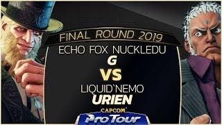 Echo Fox NuckleDu (G) vs Liquid`Nemo (Urien) - Final Round 2019 - Day 1 Pools - CPT 2019