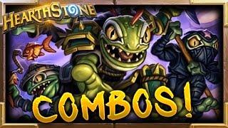 Gadgetzan Best Combos! | Hearthstone