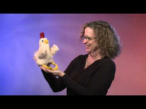 plyšový Veselé kuře