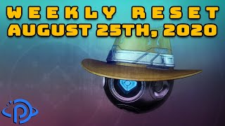 Destiny 2: Reset Guide - August 25th, 2020 | Eververse Inventory and Activities