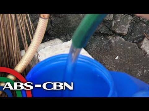 Dagdag-singil sa tubig sa Enero di na tuloy | TV Patrol