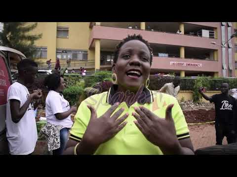Bobi Wine's sister, Irene Kayemba gives back to community