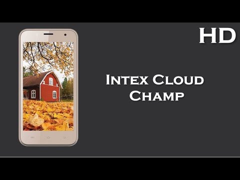 Intex Cloud Champ launched with 4.5 Inch Display 1700mAh battery, 512MB RAM, Android 4.4 KitKat