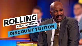 Discount Tuition   Rolling With Steve Harvey