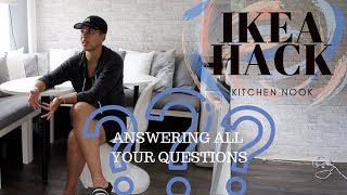 PT2 Questions Answered |Ikea HACK |Kitchen Nook Transformation