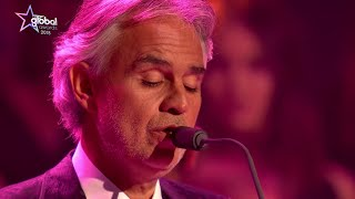 Andrea Bocelli   'Time To Say Goodbye' live at The Global Awards 2018