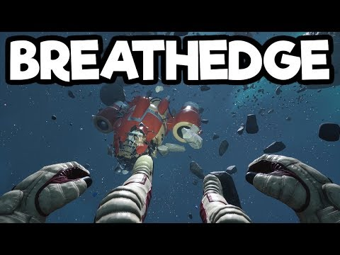 Hilarious Subnautica Style Space Survival! – Breathedge Gameplay Impressions