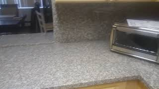 Granite material from Floor and Decor