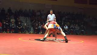 Michael O'Malley of Hasbrouck Heights tops Bergen Catholic's Chris Foca at District 5
