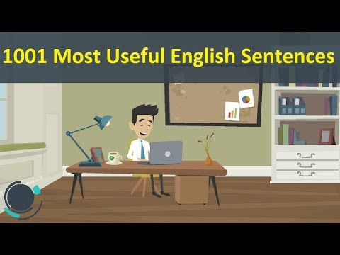 1001 Most Useful English Sentences - How to Learn English - 1001 Sentences for English Speaking ✔