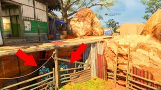 THEY WERE HIDING UNDER THE WALKWAY THE WHOLE TIME?!?!?!?!? HIDE N' SEEK ON *BLACK OPS 4*