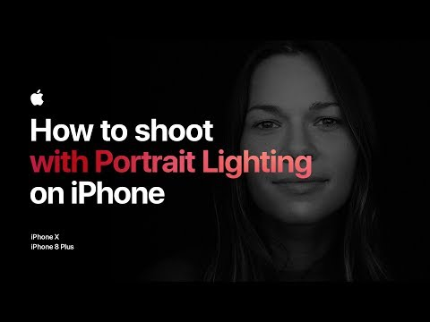 How to shoot with Portrait Lighting on iPhone 8 Plus — Apple