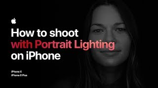 How to shoot with Portrait Lighting on iPhone — Apple