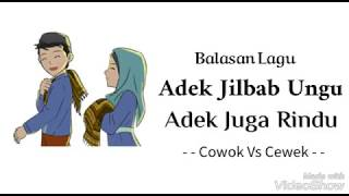 Balasan Lagu Adik Jilbab Ungu