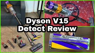 Dyson V15 Detect Vacuum Review Demo & Maintenance Tips
