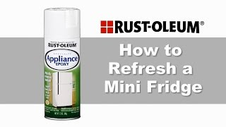 Refresh a Mini Fridge