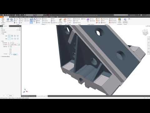 Inventor 2019 What's New: Hole Command