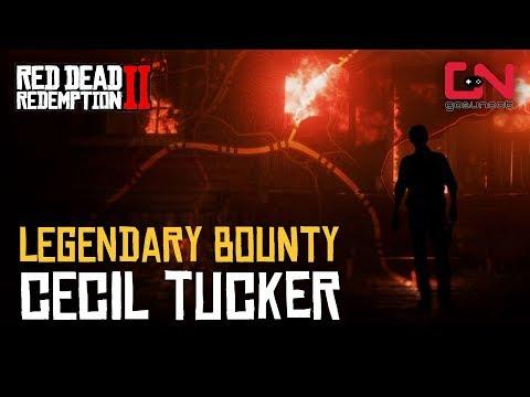 Legendary Bounty - Cecil Tucker - Red Dead Online