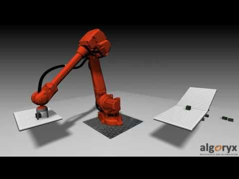 Industry robot simulation
