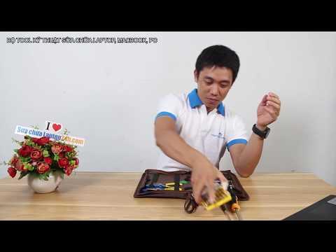 Bộ Tool kỹ thuật sửa chữa laptop, macbook, PC