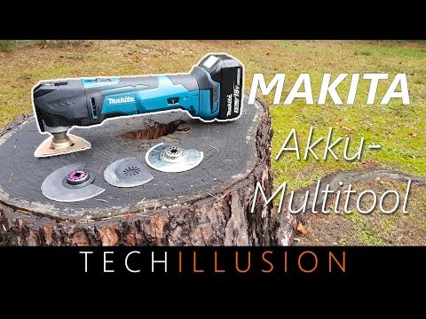 🛠MULTIFUNKTIONSWERKZEUG von Makita DTM51 im Test - DTM51 Cordless Multi-Tool - Review & Test