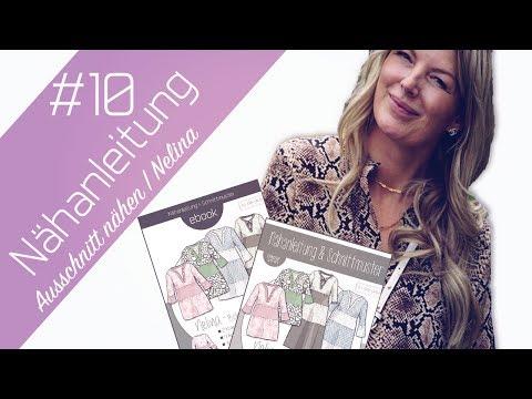 Nähanleitung Ausschnitt & Kragen zum Boho Kleid Nelina | Ki-ba-doo