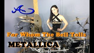 METALLICA - For Whom The Bell Tolls drum cover by Ami Kim (34th)