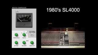 Master Bus Compressor - SSL Mixer Video Series - Reason - LearnReason.com