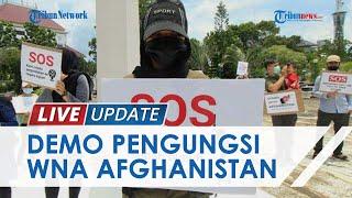 Para Pengungsi Afganistan Demo di Depan Kantor DPRD Kota Batam, Tuntut Dikembalikan ke Negara Tujuan