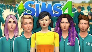 The Sims 4 ...but it's Actually Squid Game