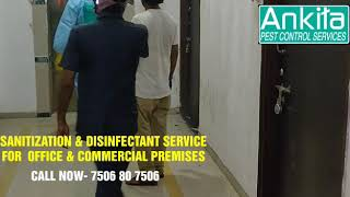 Sanitization and Disinfectant Service - COVID-19