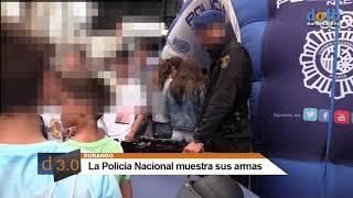 dotb Policía Nacional muestra sus armas en #Durango
