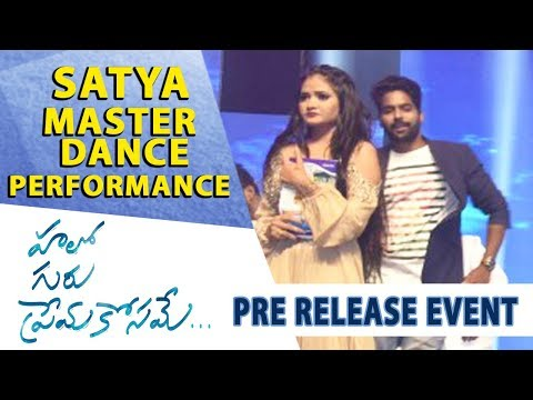 Satya Master Dance Performance - Hello Guru Prema Kosame Pre-Release Event - Ram Pothineni, Anupama