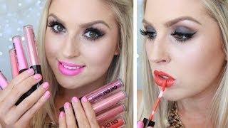 Chi Chi Creamy Matte Liquid Lipstick Review & Lip Swatches ♡