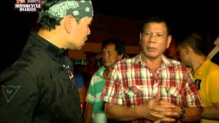 Will Davao City Mayor Rodrigo Duterte seek the presidency in 2016? | Motorcycle Diaries