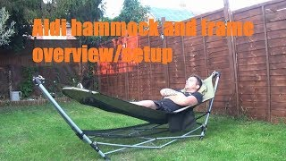 Aldi Hammock And Frame (overview)