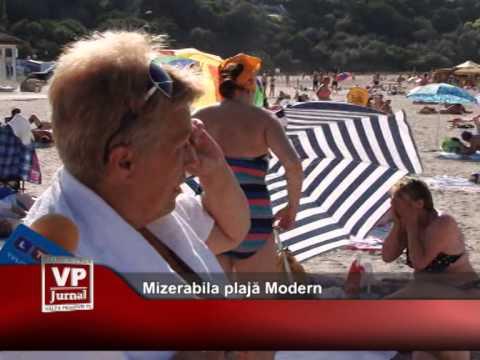 Mizerabila plajă Modern