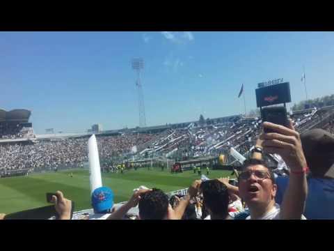 """Salida de colo colo 2016"" Barra: Garra Blanca • Club: Colo-Colo"