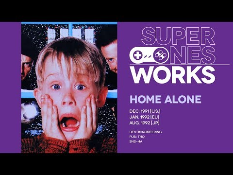 Home Alone retrospective: Doing hard time in solitary | Super NES Works #027