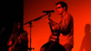 """Weezer """"Why Bother"""" Acoustic (10/25/14 Trocadero Philly Ewbaite)"""