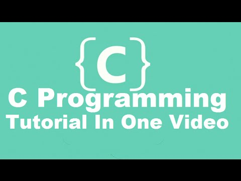 C Programming Tutorial | Learn C programming | C language examples