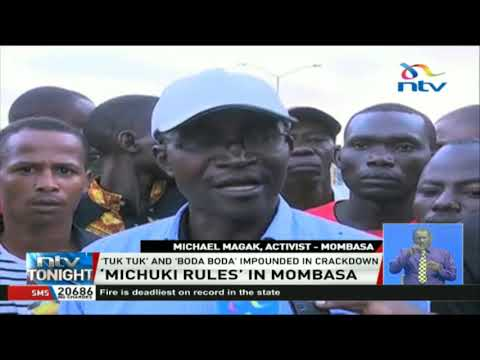 'Michuki rules' in Mombasa: Residents want the government to extend  enforcement period