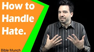 How to Handle Hate | Acts 7:59 Bible Devotional | Christian YouTuber
