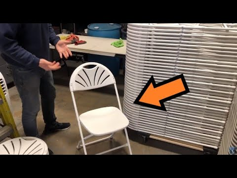 Stacking Fan Back Chairs | Start An Event Business: Back To Basics
