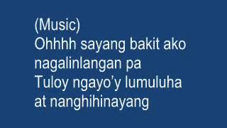 Kung maibabalik ko lang by Regine Velasquez (song lyrics).wmv