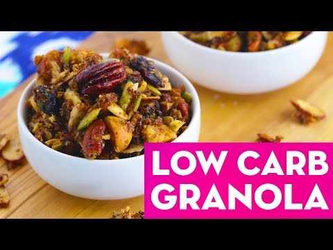 Granola 3 Ways: Healthy Low Carb, Savory & Traditional Recipes! – Mind Over Munch