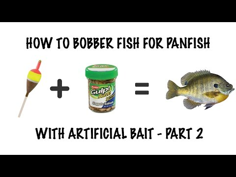 How to: Bobber Panfish fishing Part 2