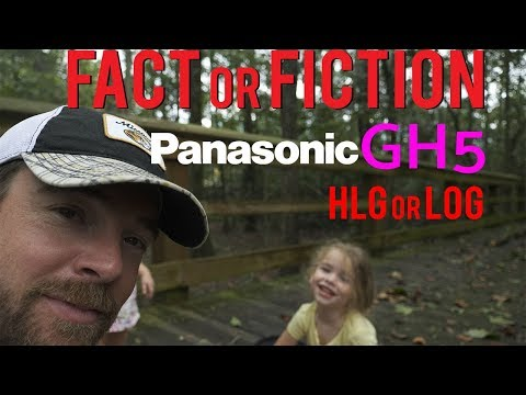 Panasonic GH5 HLG Driftwood Rec2020 to Rec709 LUT Test
