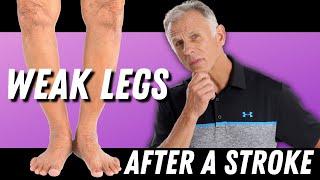 After Stroke: 3 Exercises for a Weak Leg. (Strengthening of Leg)