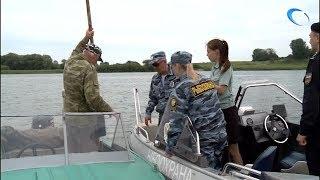 Целый водный спецназ отправился в рейд по акватории Волхова и озеру Ильмень